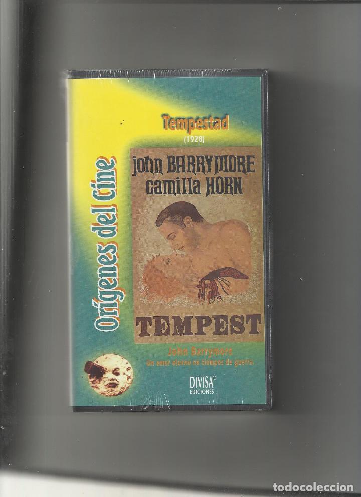 TEMPESTAD 1927 CINE MUDO CON JOHN BARRYMORE, REVOLUCION RUSA (Cine - Películas - VHS)