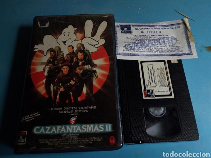 VHS- CAZAFANTASMAS 2 ,1 EDICIÓN AÑO 1989 (Cine - Películas - VHS)