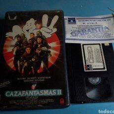 Cine: VHS- CAZAFANTASMAS 2 ,1 EDICIÓN AÑO 1989. Lote 114182214
