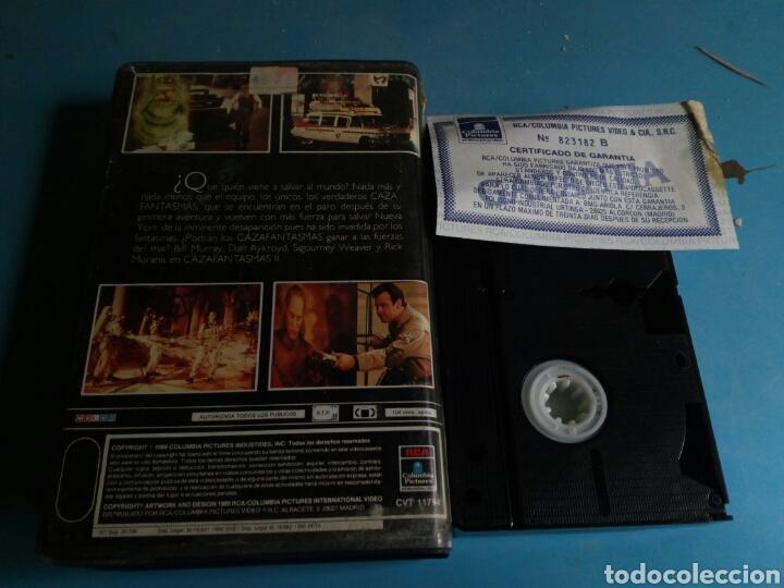 Cine: VHS- Cazafantasmas 2 ,1 edición año 1989 - Foto 2 - 114182214