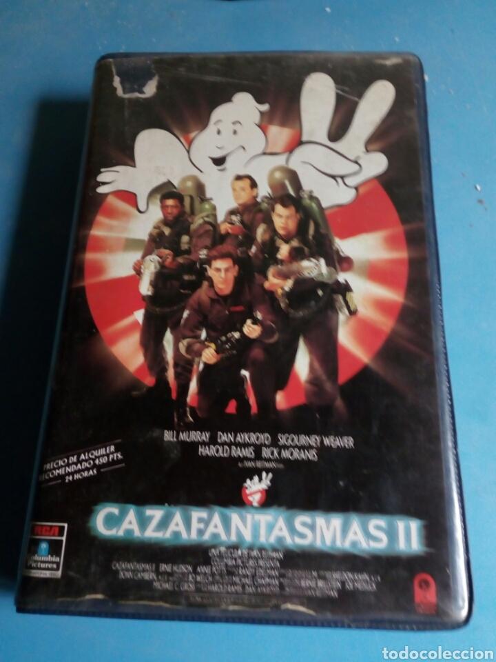 Cine: VHS- Cazafantasmas 2 ,1 edición año 1989 - Foto 4 - 114182214