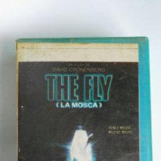 Cine: THE FLY (LA MOSCA) VHS. Lote 114308607