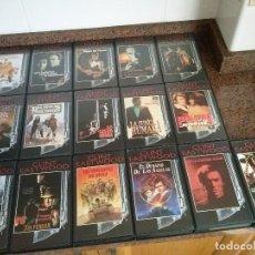 Cine: CLINT EASTWOOD. COLECCION COMPLETA DE PLANETA DE AGOSTINI DE 31 PELICULAS EN VHS BIEN CONSERVADAS.. Lote 114483999