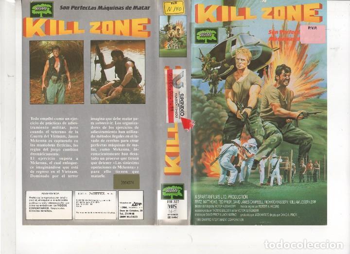 Vhs - kill zone - war trash filipinas - Sold through Direct