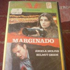 Cine: MARGINADO (1980) VHS.. Lote 114700371