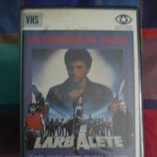 Cine: LOS GUERREROS DEL ASFALTO (1984) VHS-CINE KINKI FRANCES.. Lote 114700467