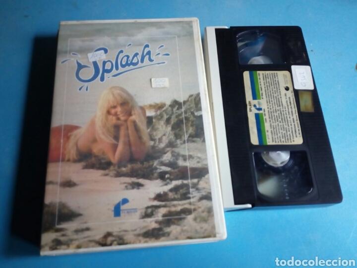 VHS- SPLASH ,TOM HANKS, 1 EDICIÓN VIDEOCLUB AÑO 1985 (Cine - Películas - VHS)
