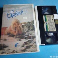 Cine: VHS- SPLASH ,TOM HANKS, 1 EDICIÓN VIDEOCLUB AÑO 1985. Lote 114814172