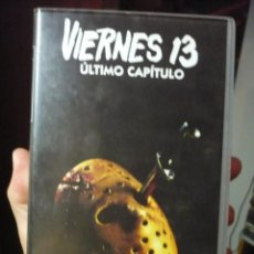 Cine: VIERNES 13:CAPITULO FINAL (1984) VHS.. Lote 114894007