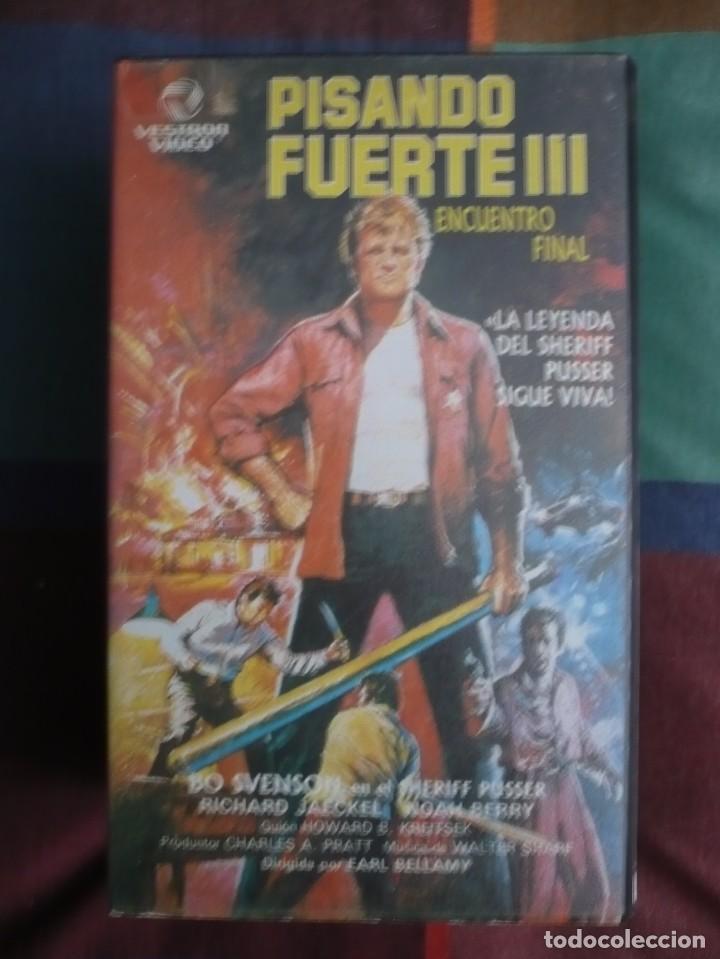 PISANDO FUERTE 3 (1977). VHS. (Cine - Películas - VHS)