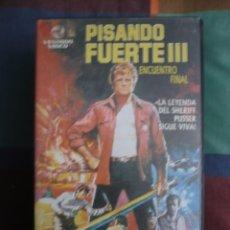 Cine: PISANDO FUERTE 3 (1977). VHS.. Lote 115073151