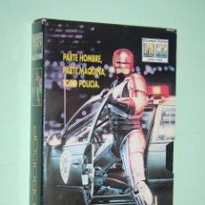 Cine: ROBOCOP (RONNY COX, DANIEL O'HERLHY, ..) *** CINE VHS *** COLUMBIA *** FUNDA CARTÓN. Lote 115230271