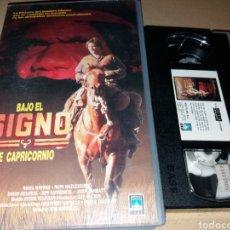 Cine: BAJO EL SIGNO DE CAPRICORNIO- VHS- DIR: ROB STEWARD- AVENTURAS. Lote 115249911