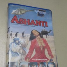 Cine: VHS VIDEO ASHANTI EBANO RICHARD FLEISCHER MICHAEL CAINE PETER USTINOV OMAR SHARIF REX HARRISON, WI. Lote 115545131