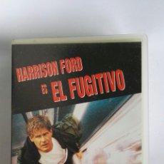 Cine: EL FUGITIVO HARRISON FORD VHS. Lote 115555958