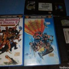 Cine: VHS- LOCA ACADEMIA DE POLICÍA 4 Y 5, 1 EDICIÓN ORIGINAL VIDEOCLUB AÑOS 80. Lote 115605387
