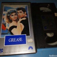 Cine: VHS- GREASE , ORIGINAL VIDEOCLUB AÑOS 70. Lote 115605952
