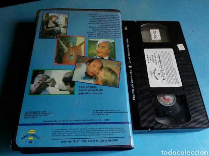 Cine: VHS- El pelo de la desgracia,1 edición original videoclub año 1987.muy rara - Foto 2 - 115699390