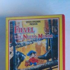 Cine: FIEVEL Y EL NUEVO MUNDO VHS STEVEN SPIELBERG. Lote 115706883