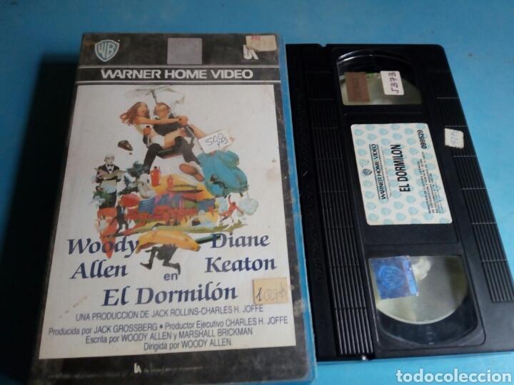 VHS- EL DORMILÓN, ORIGINAL VIDEOCLUB, WOODY ALLEN Y DIANE KEATON (Cine - Películas - VHS)