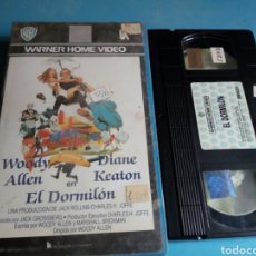 Cine: VHS- EL DORMILÓN, ORIGINAL VIDEOCLUB, WOODY ALLEN Y DIANE KEATON. Lote 115707766