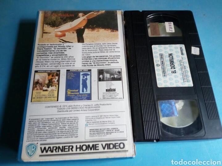 Cine: VHS- El Dormilón, original videoclub, Woody Allen y Diane Keaton - Foto 2 - 115707766