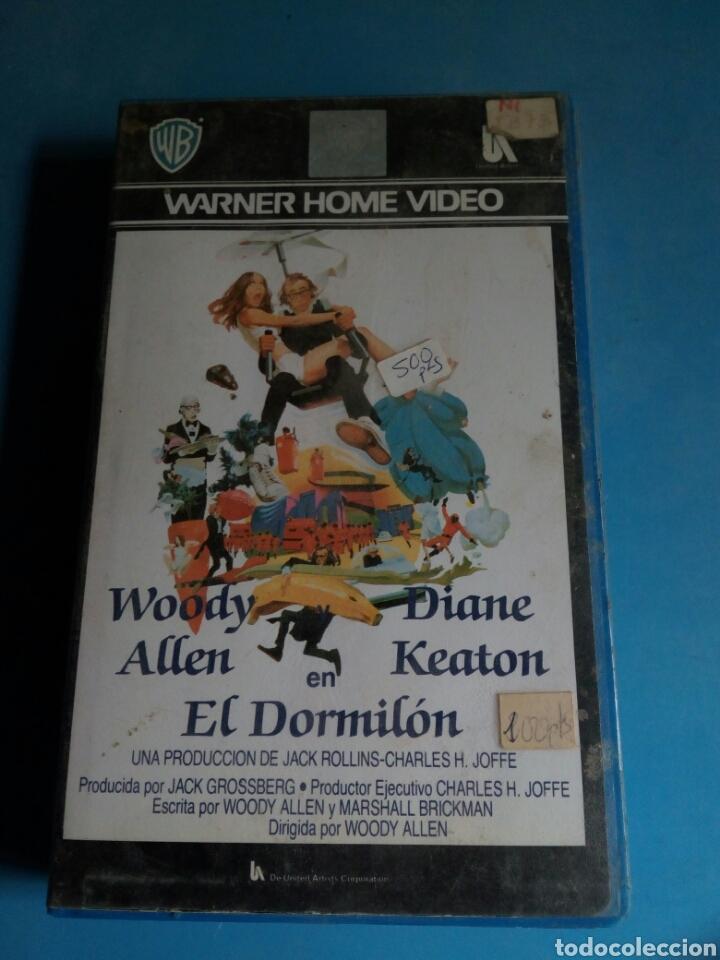 Cine: VHS- El Dormilón, original videoclub, Woody Allen y Diane Keaton - Foto 4 - 115707766