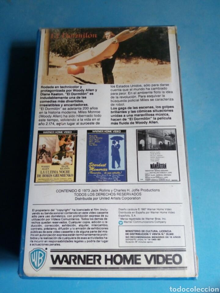 Cine: VHS- El Dormilón, original videoclub, Woody Allen y Diane Keaton - Foto 5 - 115707766