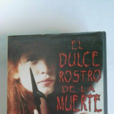 Cine: EL DULCE ROSTRO DE LA MUERTE VHS TERROR. Lote 115869119