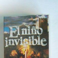 Cine: EL NIÑO INVISIBLE VHS BOM BOM CHIP. Lote 115870176