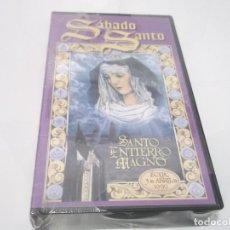 Cine: VIDEO VHS - SEMANA SANTA - ECIJA - SANTO ENTIERRO MAGNO - 1999. Lote 116167235