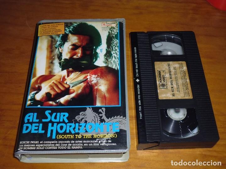 AL SUR DEL HORIZONTE - VHS . 1ª EDICION KALENDER (Cine - Películas - VHS)