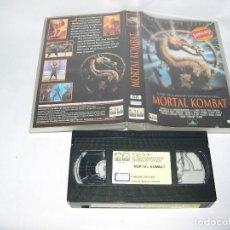 Cine: VHS MORTAL KOMBAT. Lote 116228071