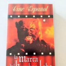 Cine: LA MARCA DEL HOMBRE LOBO 1968 PAUL NASCHY PELÍCULA VHS MIEDO TERROR . Lote 116420715
