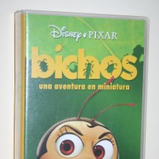 Cine: BICHOS *** VHS INFANTIL (DIBUJOS ANIMADOS) *** WALT DISNEY. Lote 116459591