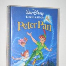 Cine: PETER PAN *** VHS INFANTIL (DIBUJOS ANIMADOS) *** WALT DISNEY. Lote 116461895