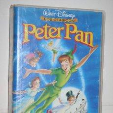 Cine: PETER PAN *** VHS INFANTIL (DIBUJOS ANIMADOS) *** WALT DISNEY. Lote 116463759