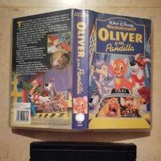 Cine: EDICION VHS ORIGINAL - OLIVER Y SU PANDILLA - WALT DISNEY. Lote 116493739