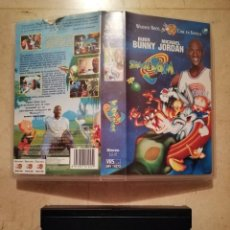 Cine: EDICION VHS ORIGINAL - SPACE JAM - INFANTIL - BUGS BUNNY - MICHAEL JORDAN - BASKET. Lote 116494403