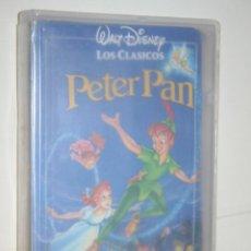 Cine: PETER PAN *** VHS INFANTIL (DIBUJOS ANIMADOS) *** WALT DISNEY. Lote 116503639