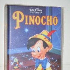 Cine: PINOCHO *** VHS INFANTIL (DIBUJOS ANIMADOS) *** WALT DISNEY. Lote 116505847