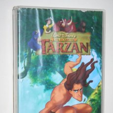 Cine: TARZÁN *** VHS INFANTIL (DIBUJOS ANIMADOS) *** WALT DISNEY. Lote 116505931