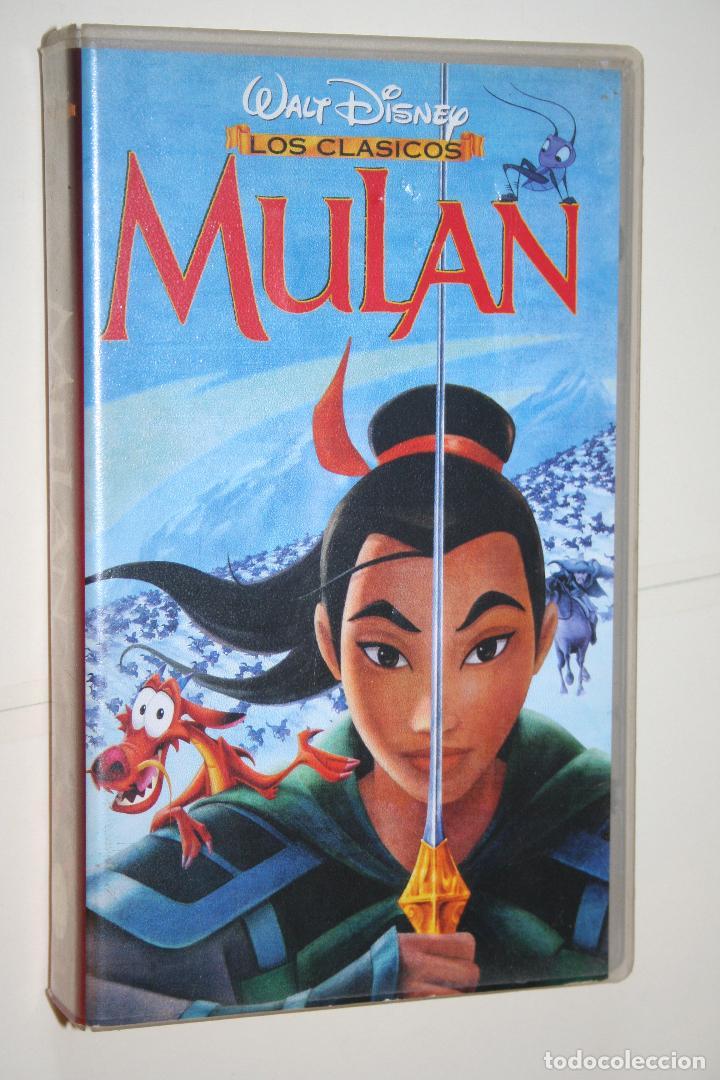 MULAN *** VHS INFANTIL (DIBUJOS ANIMADOS) *** WALT DISNEY (Cine - Películas - VHS)