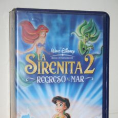 Cine: LA SIRENITA 2: REGRESO AL MAR *** VHS INFANTIL (DIBUJOS ANIMADOS) *** WALT DISNEY. Lote 116506867