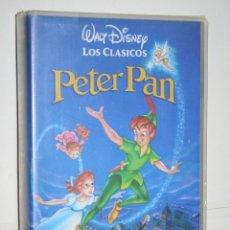 Cine: PETER PAN *** VHS INFANTIL (DIBUJOS ANIMADOS) *** WALT DISNEY. Lote 116506975