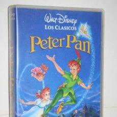 Cine: PETER PAN *** VHS INFANTIL (DIBUJOS ANIMADOS) *** WALT DISNEY. Lote 116529731