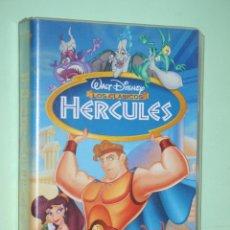 Cine: HERCULES *** VHS INFANTIL (DIBUJOS ANIMADOS) *** WALT DISNEY. Lote 116532247