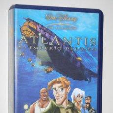 Cine: ATLANTIS *** VHS INFANTIL (DIBUJOS ANIMADOS) *** WALT DISNEY. Lote 116539827
