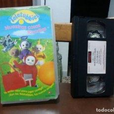 Cine: CINTA VHS DIBUJOS ANIMADOS TELETUBBIES NUESTRAS COSAS FAVORITAS . Lote 116598243