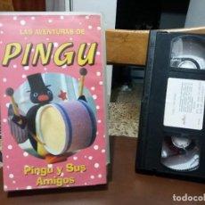 Cine: CINTA VIDEO CASSETTE DIBUJOS ANIMADOS LAS AVENTURAS DE PINGU Y SUS AMIGOS . Lote 116612583